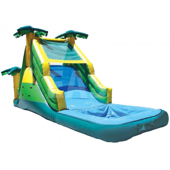 Kids Inflatable Pool With Slide