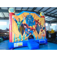 Jumping Castle Der Justice League